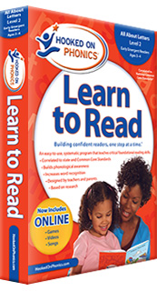 NEW! Hooked on Phonics Learn to Read Pre-K Level 2