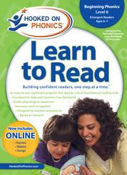New! Learn to Read- Beginning Phonics, Level 6