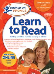 New! Learn to Read - All About Letters,     - Level 1